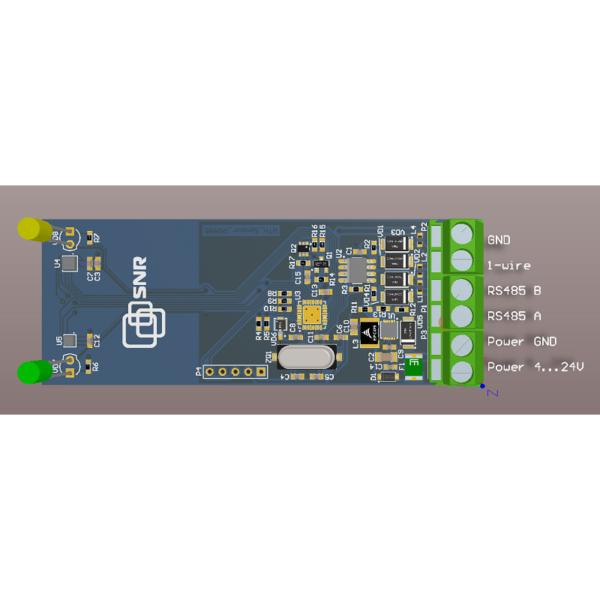 Рис.2 - Датчик влажности, температуры, давления с проводным интерфейсом RS485