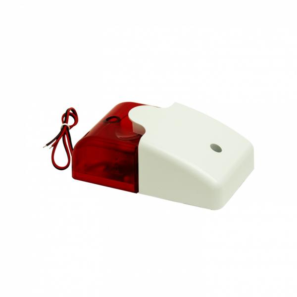 Рис.3 - Звуковой и световой сигнализатор, сирена 110дб, красный