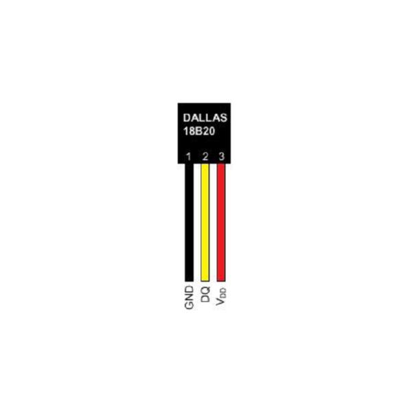 Рис.2 - Датчик температуры цифровой – SNR-DTS-2