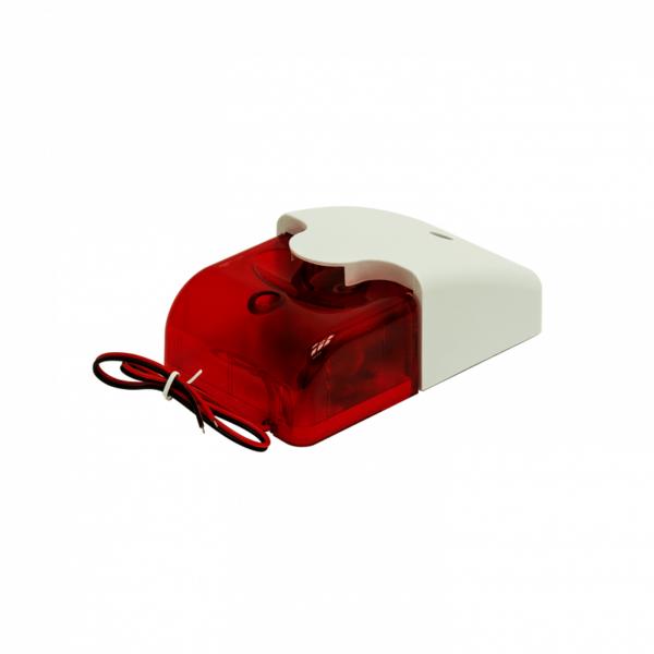 Рис.4 - Звуковой и световой сигнализатор, сирена 110дб, красный