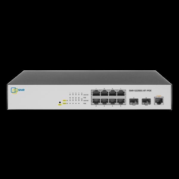 Управляемый POE коммутатор уровня 2 SNR-S2200G-8T-POE