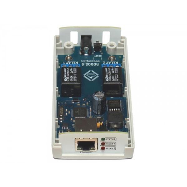 12. Ethernet реле на 2 релейных канала RODOS-9