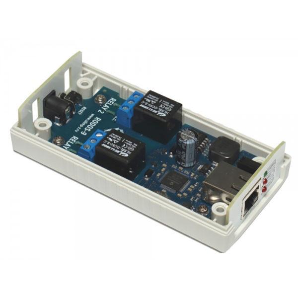 13. Ethernet реле на 2 релейных канала RODOS-9