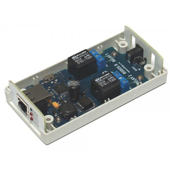 15. Ethernet реле на 2 релейных канала RODOS-9