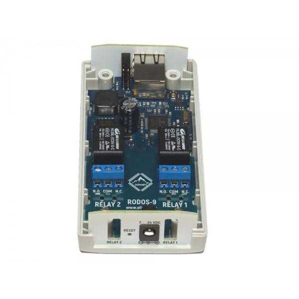 17. Ethernet реле на 2 релейных канала RODOS-9