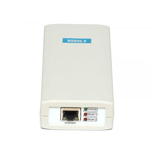 7. Ethernet реле на 2 релейных канала RODOS-9