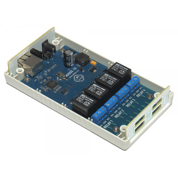 Ethernet реле на 4 релейных канала RODOS-10