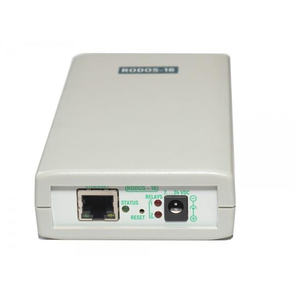 10. Интернет термостат/гигростат c 2-мя релейными каналами и логическими входами/выходами RODOS-16