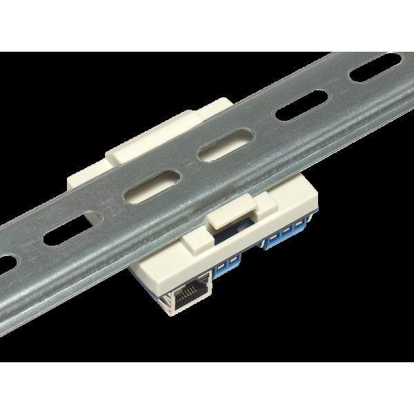 14. Интернет реле на DIN рейку на 1 релейный канал RODOS-8 Open Frame