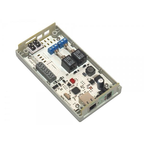 16. Интернет термостат/гигростат c 2-мя релейными каналами и логическими входами/выходами RODOS-16