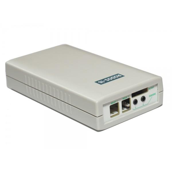 3. Интернет термостат/гигростат c 2-мя релейными каналами и логическими входами/выходами RODOS-16