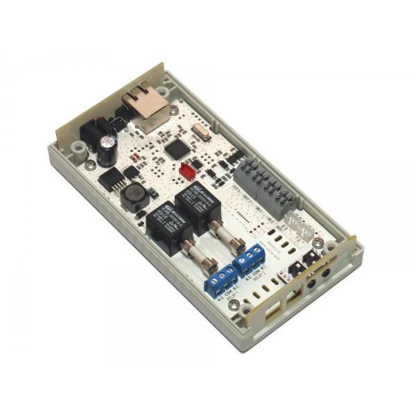 5. Интернет термостат/гигростат c 2-мя релейными каналами и логическими входами/выходами RODOS-16