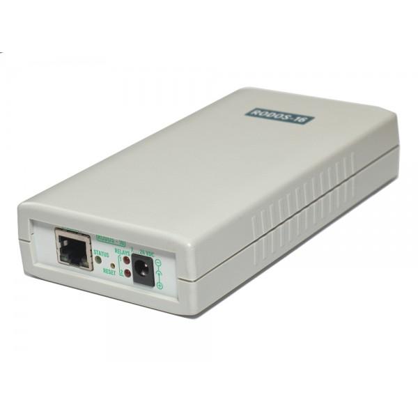 6. Интернет термостат/гигростат c 2-мя релейными каналами и логическими входами/выходами RODOS-16
