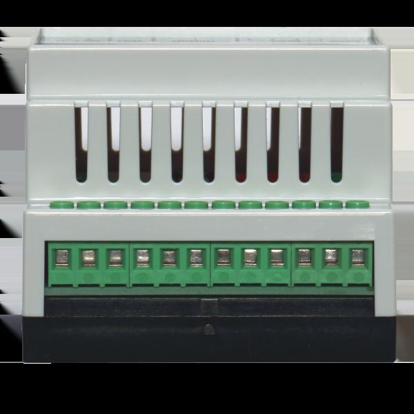 6. Ethernet реле на DIN рейку на 4 релейных канала RODOS-10N DIN