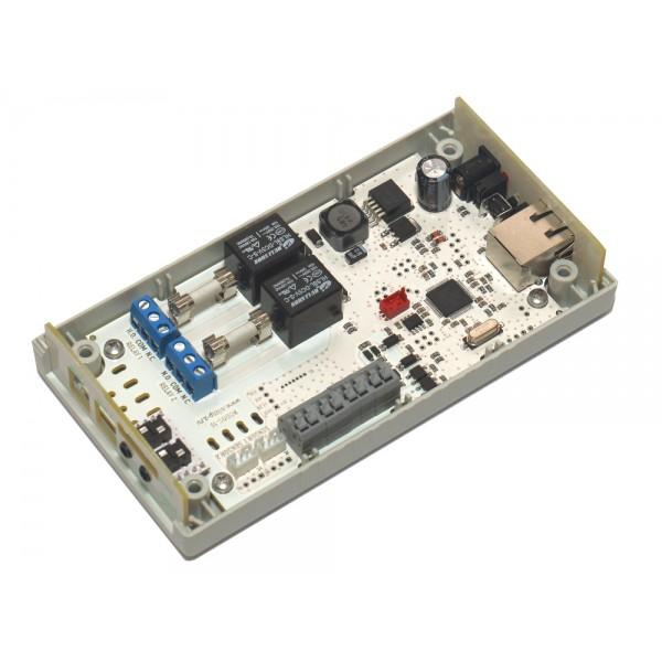 8. Интернет термостат/гигростат c 2-мя релейными каналами и логическими входами/выходами RODOS-16