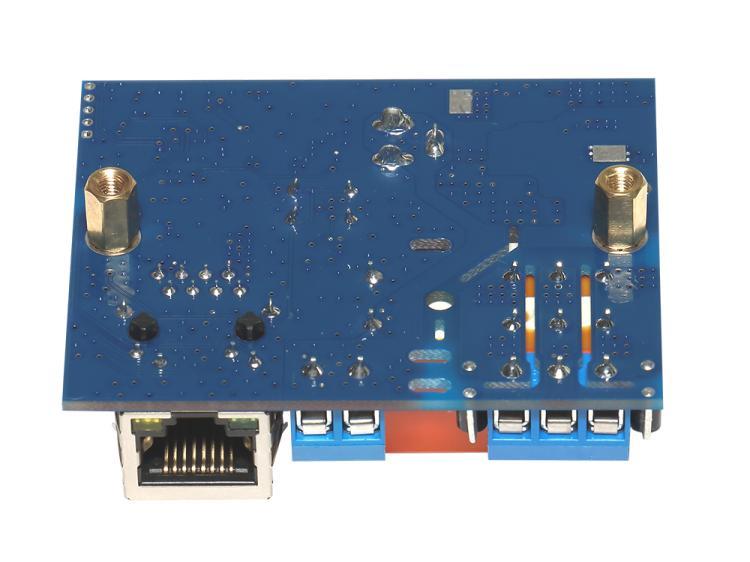 Рис.1 - Вариант крепления RODOS-8 Open Frame на вертикальные стойки с резьбой M3 «PCHSS-08»