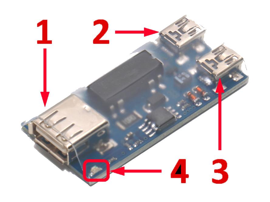 Описание USB реле RODOS-1