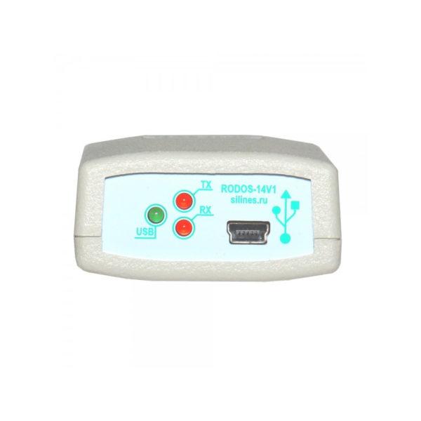 Изолированный преобразователь интерфейсов USB-RS485/RS422 RODOS-14N