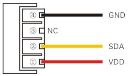 Рис.2 - Датчик температуры и влажности DHT22 (AM2302) - распиновка контактов