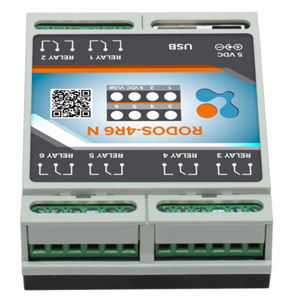 USB реле на 6 релейных каналов RODOS-4R6 N