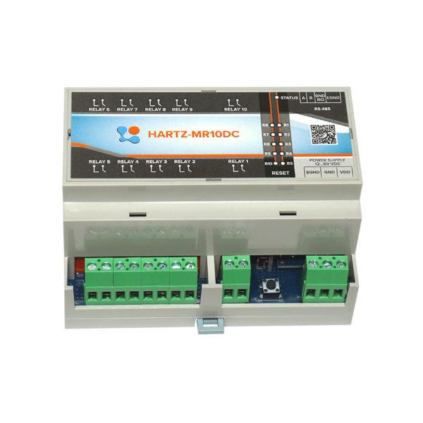 Релейный модуль на 10 каналов HARTZ-MR10DC фото #6