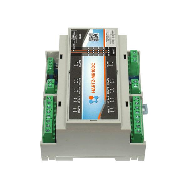 Релейный модуль на 10 каналов HARTZ-MR10DC фото №8