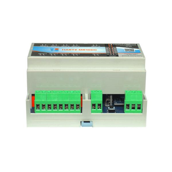 Релейный модуль на 10 каналов HARTZ-MR10DC фото №9