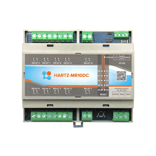 Релейный модуль на 10 каналов HARTZ-MR10DC фото №11