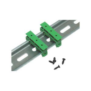 Кронштейн DRG-01 для монтажа печатной платы на DIN-рейку