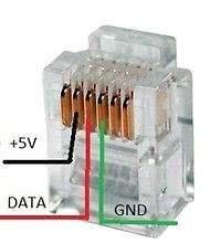 Рис.1 - Схема обжимки дополнительных датчиков