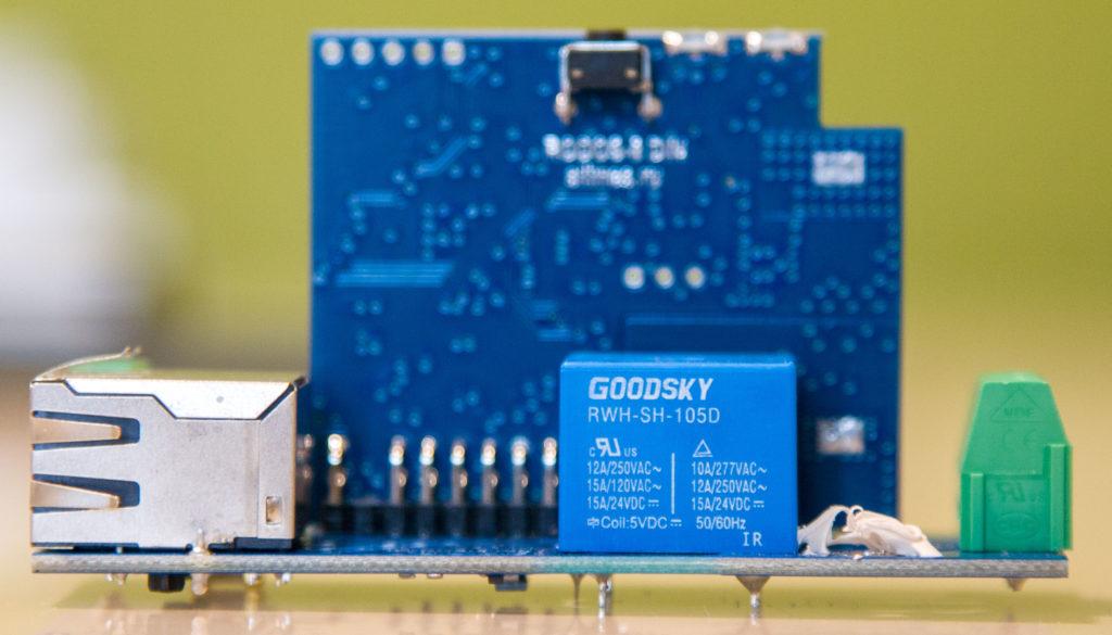 Рисунок 3. Плата микроконтроллера устройства RODOS-8 DIN