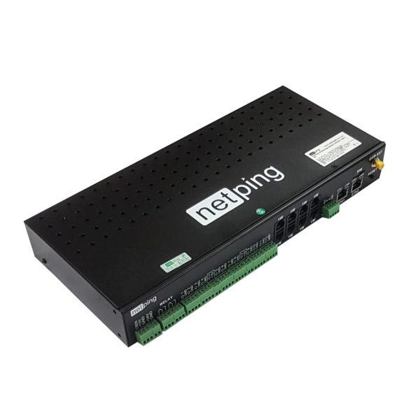 NetPing server solution v5/GSM3G
