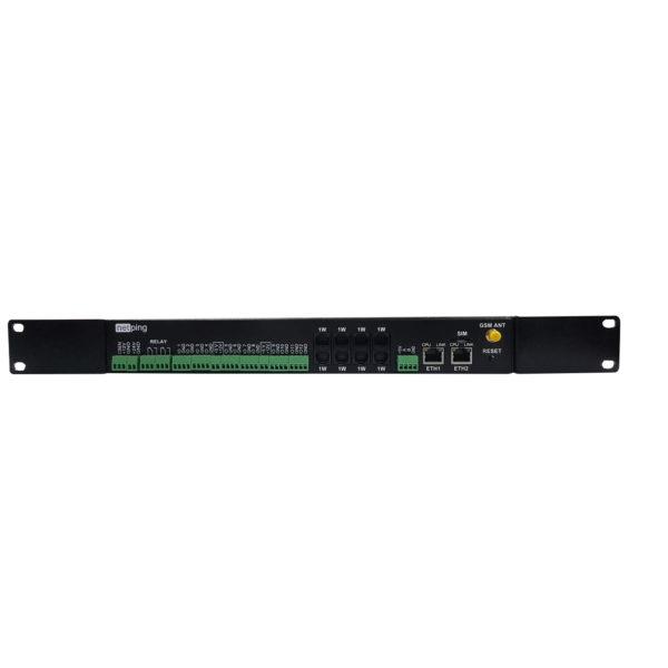 NetPing server solution v5/GSM3G - вид спереди
