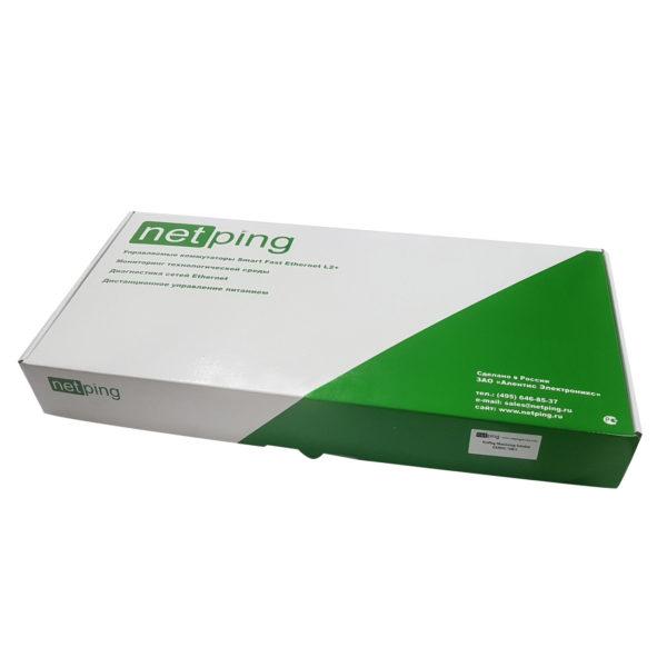 NetPing server solution v5/GSM3G - упаковочная коробка