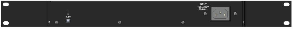 Рисунок 2. Устройство мониторинга микроклимата серверной комнаты NetPing server solution v5 - задняя панель