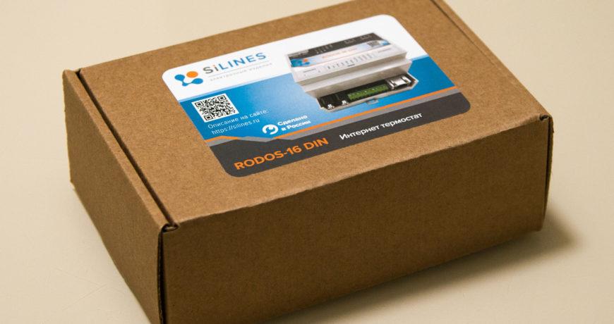 Обзор схемотехники Ethernet-термостата RODOS-16 DIN (Silines)