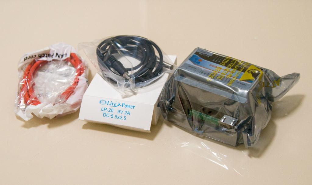 Рисунок 1. Комплектация интернет-термостата RODOS-16 DIN