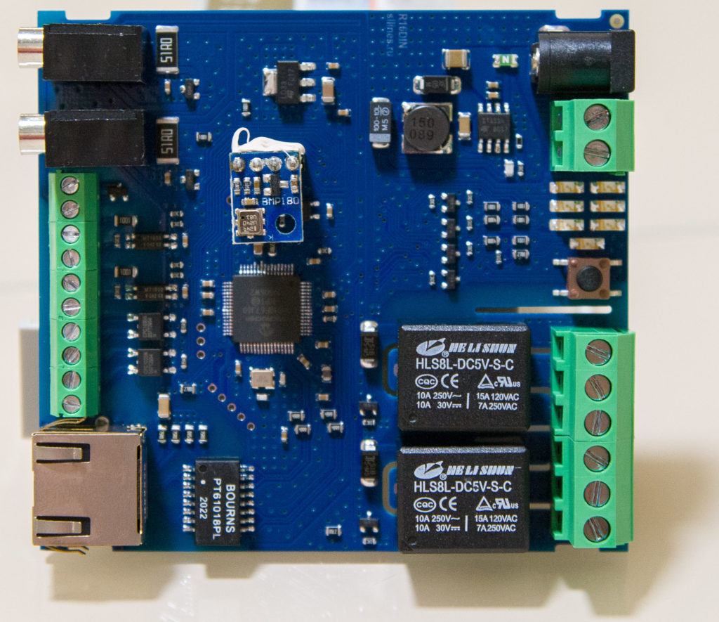 Рисунок 8. Реле RODOS-16 DIN, обеспечивающие коммутацию силовой нагрузки