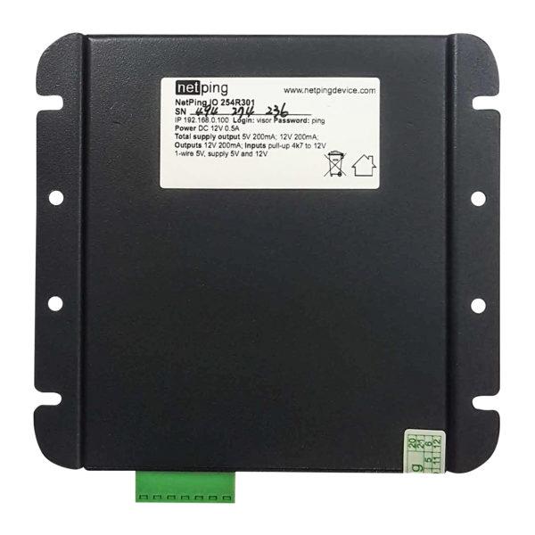 NetPing Input+Relay v1 вид снизу