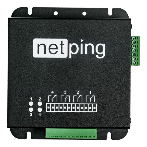 NetPing Input+Relay v1 - вид сверху
