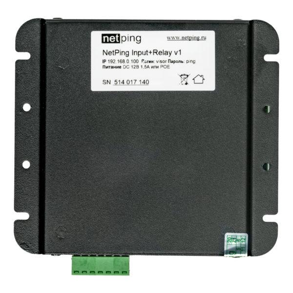 NetPing Input+Relay v1 - вид снизу