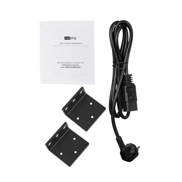 NetPing блок розеток 1-wire 888S0201