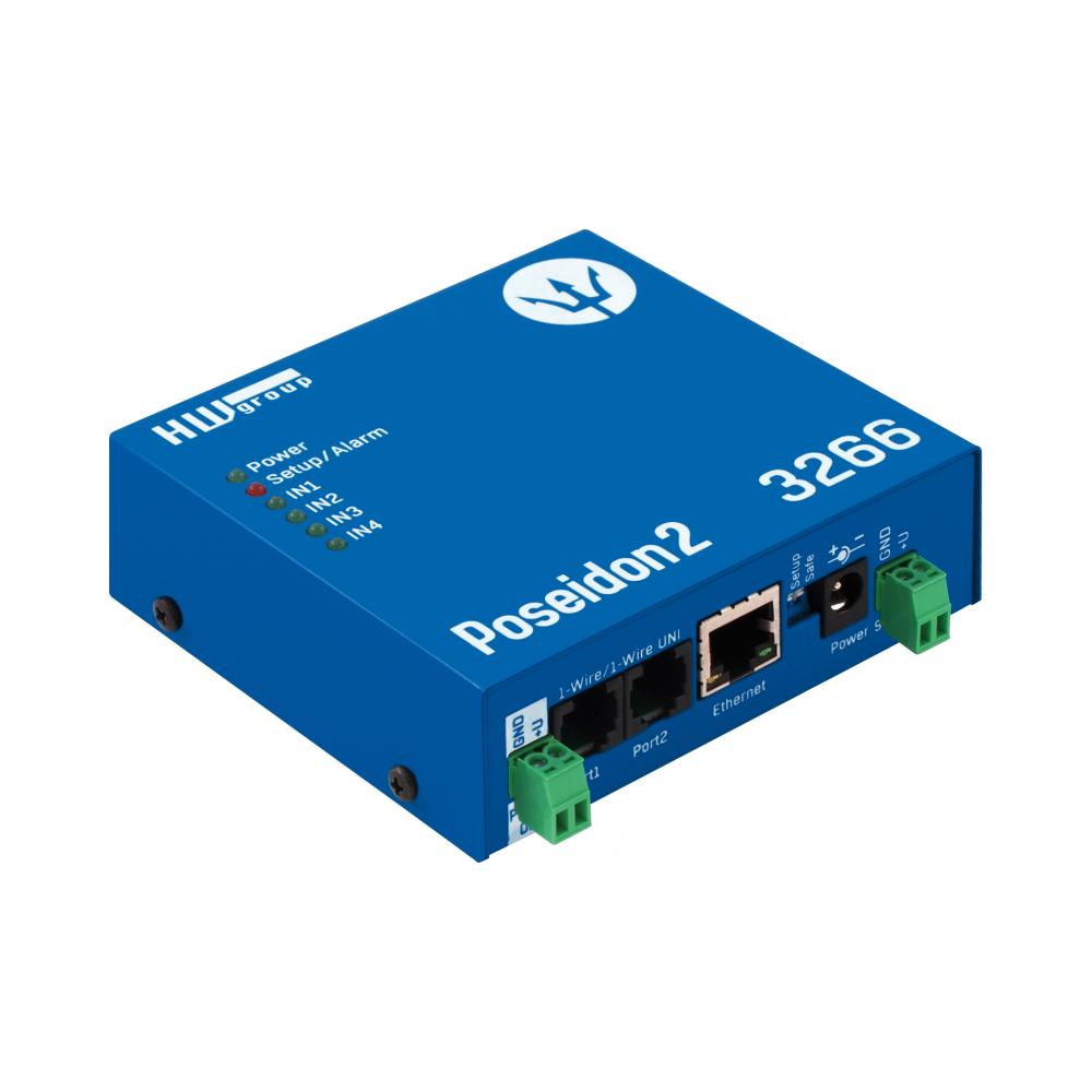 Poseidon2 3266 Экономичная модель для удаленного мониторинга датчиков и детекторов.