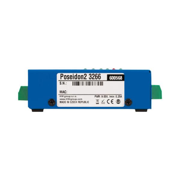 Poseidon2 предназначена для мониторинга и управления датчиками и цифровым вводом-выводом в сети с использованием безопасных протоколов M2M (HTTP, IPv6, SNMPv3).