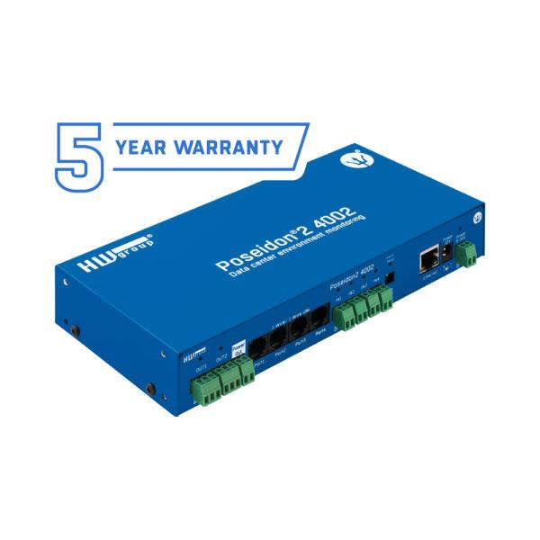 Poseidon2 4002 может подключать до 40 датчиков. обеспечивает 12 цифровых входов с сухими контактами, 8 виртуальных цифровых выходов и позволяет управлять 4 релейными выходами.