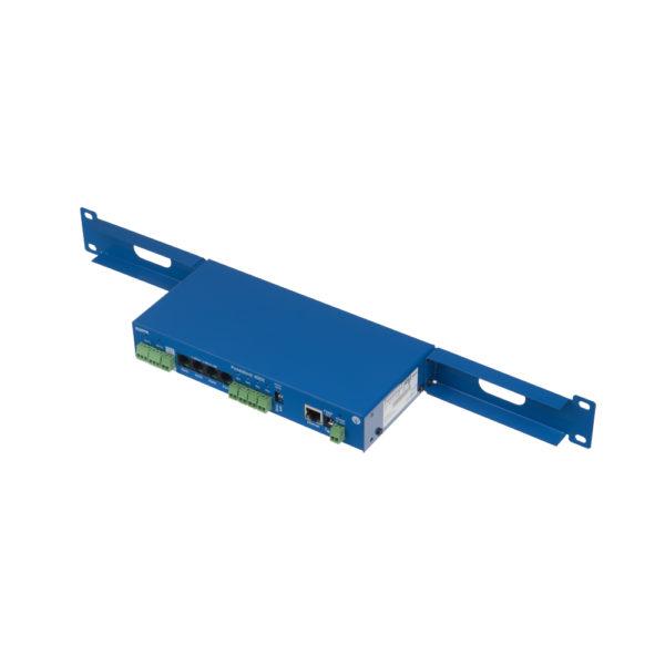 Система мониторинга Poseidon2 4002 помещается в 19-дюймовую стойку и совместима с протоколом SNMP.