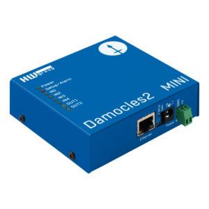 Damocles2 MINI - это компактное устройство ввода-вывода Ethernet с повышенной IP-безопасностью.