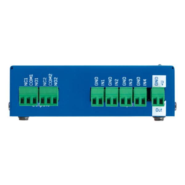 Damocles2 MINI имеет 4 цифровых входа с сухими контактами.