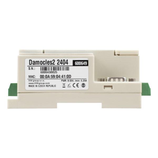 Устройство Damocles2 предназначено для мониторинга и управления цифровым вводом-выводом по сети с использованием безопасных протоколов M2M.