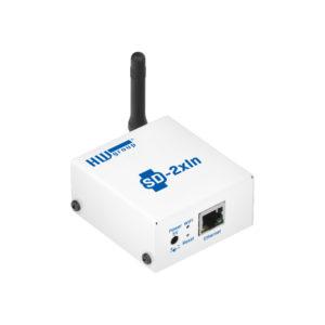 SD-2xIn - это устройство для подключения дверных или оконных контактов, датчиков движения PIR или датчиков дыма или газа с выходом на сухой контакт.